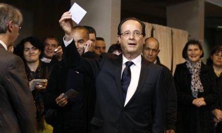 François Hollande président : un dernier vote pour la route