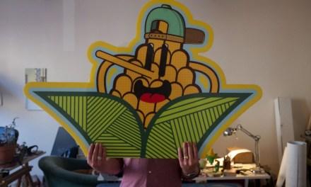 Portrait de No Hash, artiste technicien du Stickers