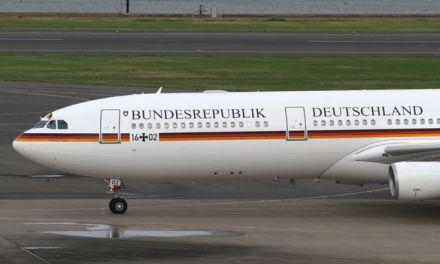 Angela Merkel en retard au G20 suite à un problème technique de son A340