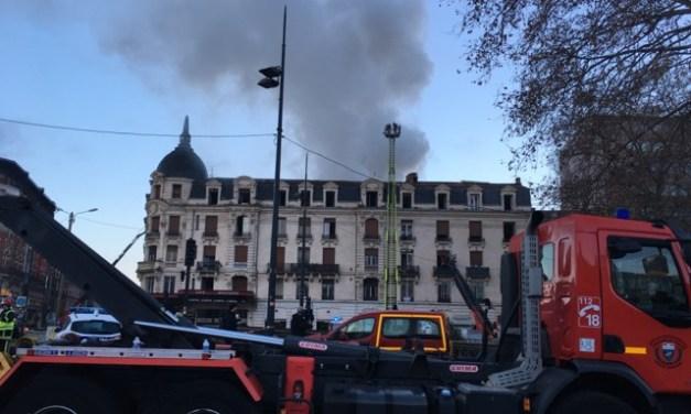 Incendie, cagnotte pour les forces de l'ordre… les infos à la mi-journée