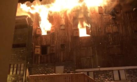 Important incendie à Courchevel (Savoie)  : 2 morts et 4 blessés graves