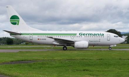 La compagnie aérienne Germania dépose le bilan