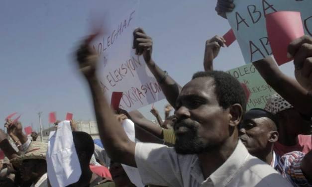 Manifestations mortelles à Haïti