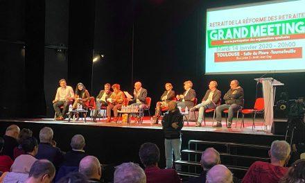 [VIDEO] Réforme des retraites : une gauche unie à Tournefeuille