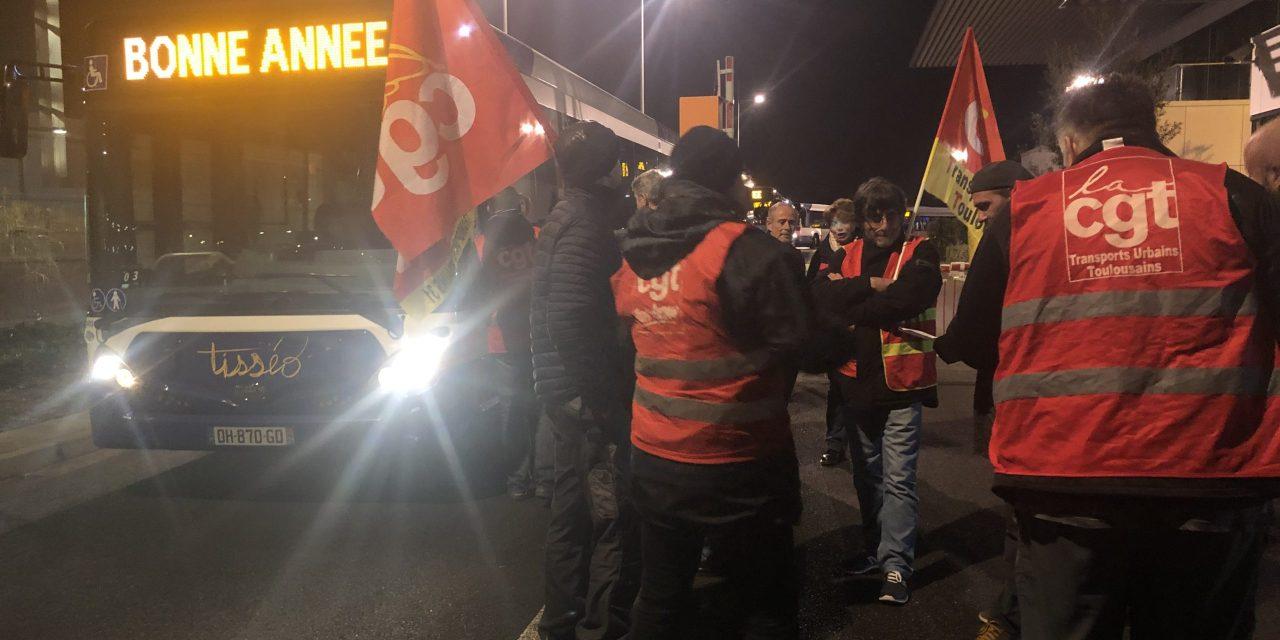 Tisséo : les syndicats mobilisés aux aurores