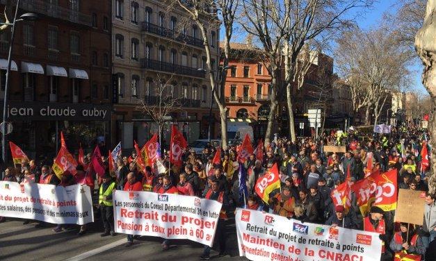 Toulouse : 35 000 personnes ont manifesté ce matin, selon la CGT