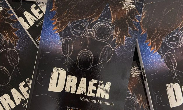 Talk #4 : Matthieu Mountels et son roman «DRAEM»