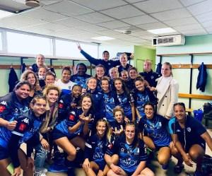 L'ensemble du groupe de Montpellier Féminin est impatient de reprendre la compétition. Tout comme celui de Blagnac Rugby Féminin.