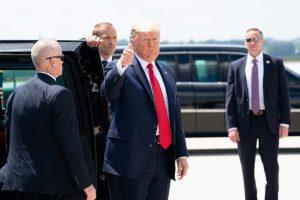 Donald Trump est accusé d'avoir incité ses partisans à prendre d'assaut le Capitole. Crédits : Creative Commons