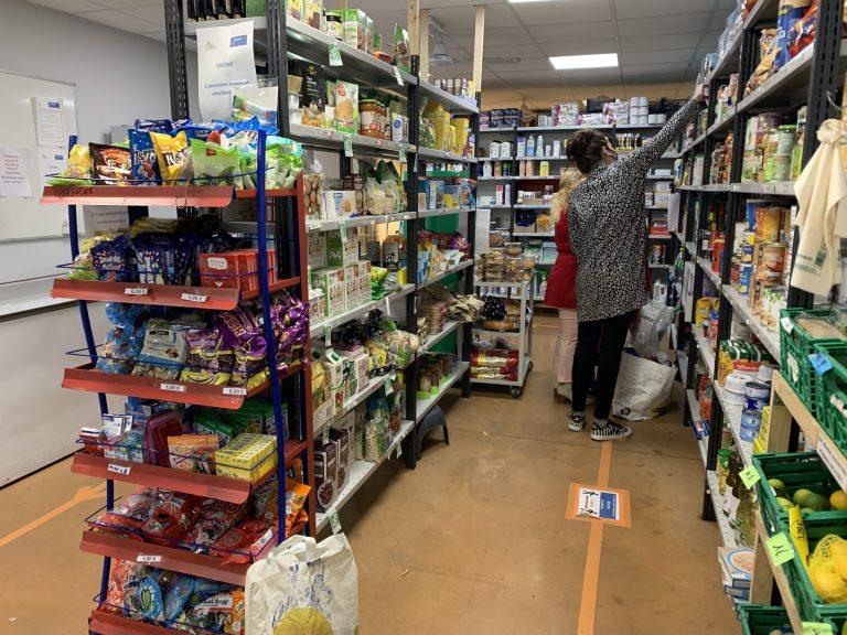 L'association Main Tendue 31 a créé son épicerie sociale au nord de Toulouse. Crédit photo : Emmanuel Rivals
