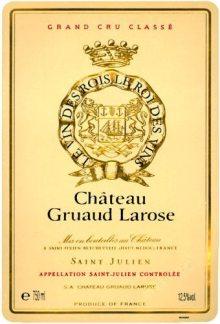 Gruaud Larose label - Bordeaux
