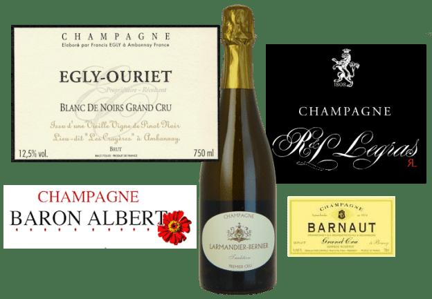 Lea and Sandeman Grower Champagnes - Half Dozen
