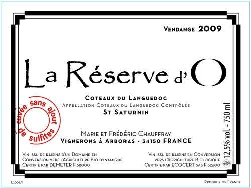 reserve d'o label