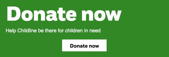 NSPCC donate button