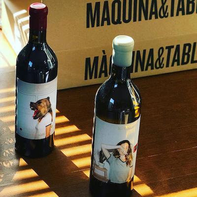 Maquina y tabla - new wines