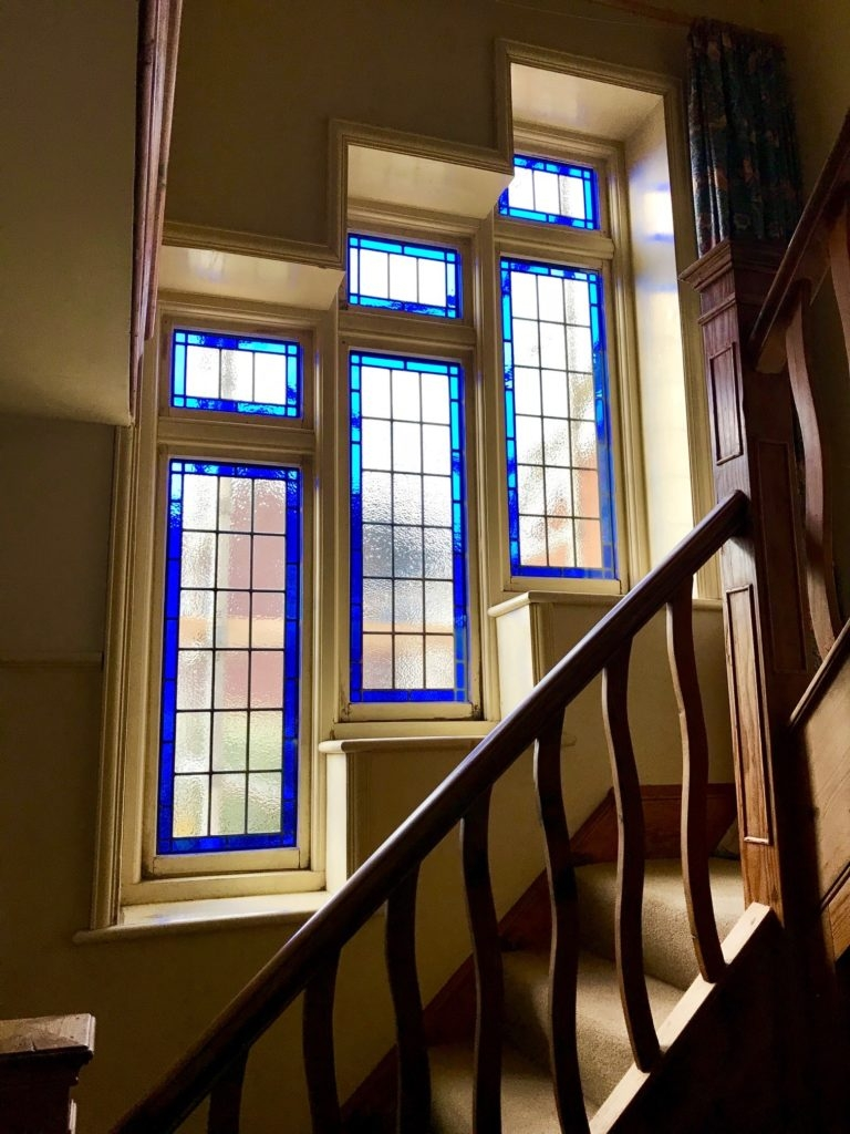 Modern Staircase Window Glass Design | Stairs Window Glass Design | Classic | Foreign Window | Simple | Stairwell | Grill