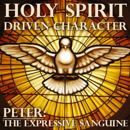 Holy Spirit Driven Character