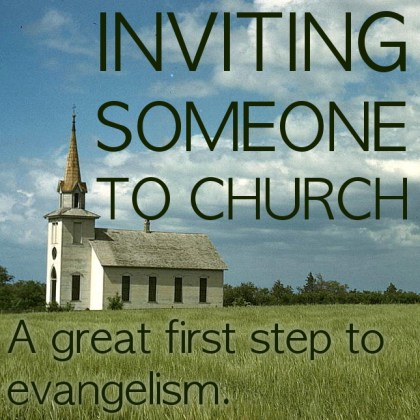 Inviting Someone To Church
