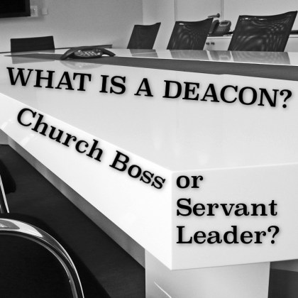 What Is a Deacon?