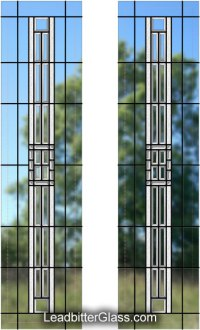 Bevelled Glass French Doors - Sheffield