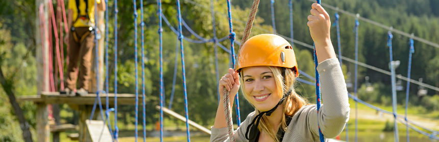 Choosing a ropes course