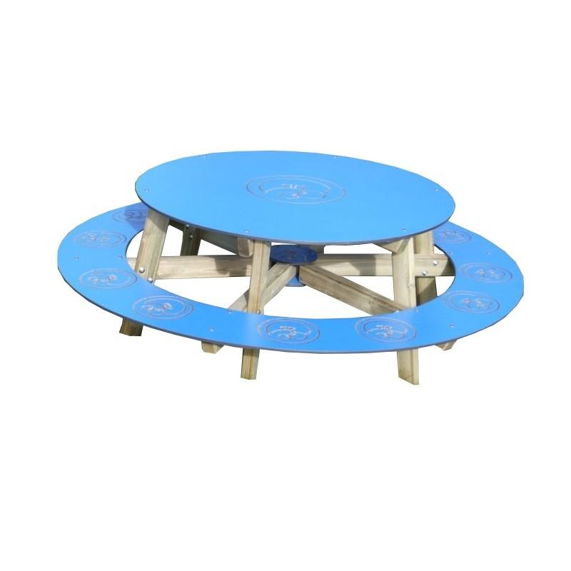 table de pique nique en bois ronde table de pique nique en bois pour enfant