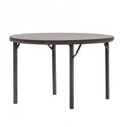 table ronde en plastique pliante