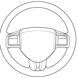 steering wheel cut out