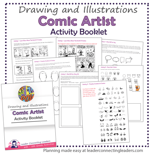 Comic Artist Booklet