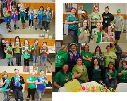 Girls for St. Patricks Day