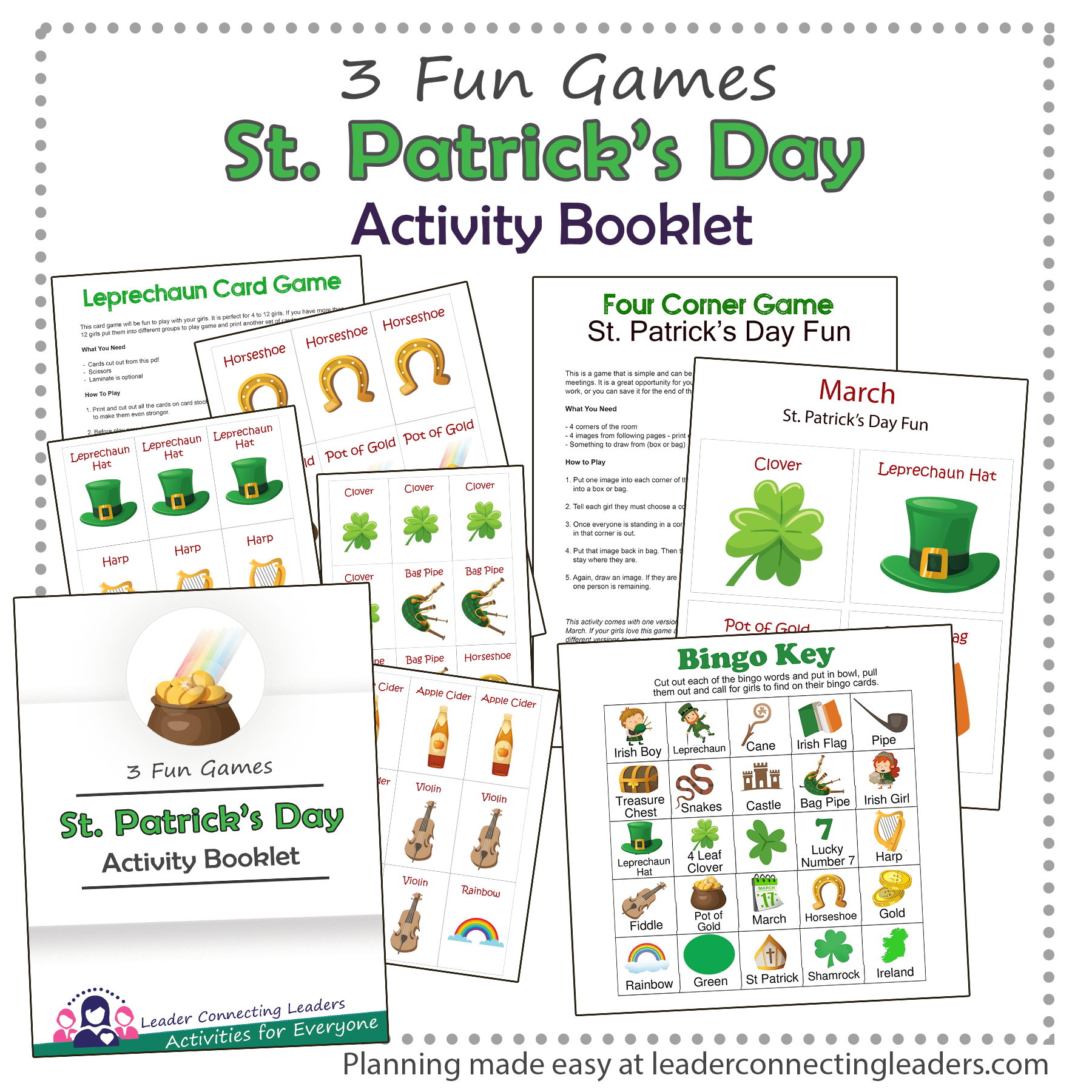 St Patrick's Day Activity Booklet