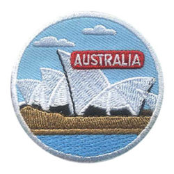 Australia Landmark Fun Patch