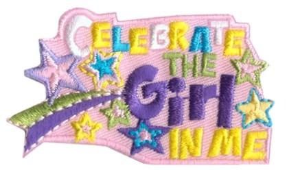 Celebrate the girl in me fun patch
