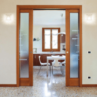Eclisse Sliding Double Cavity Door System | Leader Doors