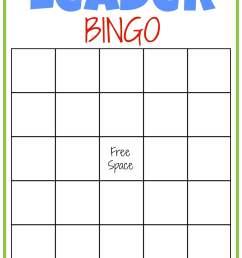 Leader Bingo FREE Printable - Leader In Me [ 2180 x 1580 Pixel ]