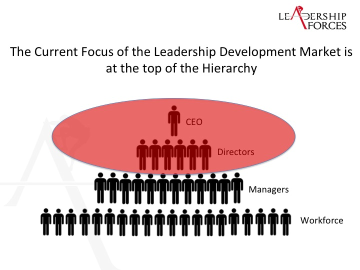 Why the Leadership Development Market misses the point…