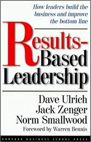 Book cover-Results Based Leadership