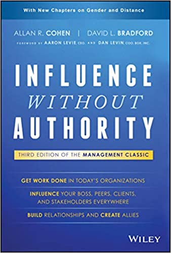 Book Cover-Influence Without Authority Allan R. Cohen