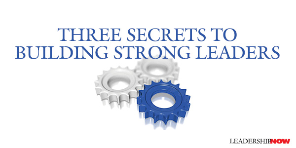 Building Strong Leaders