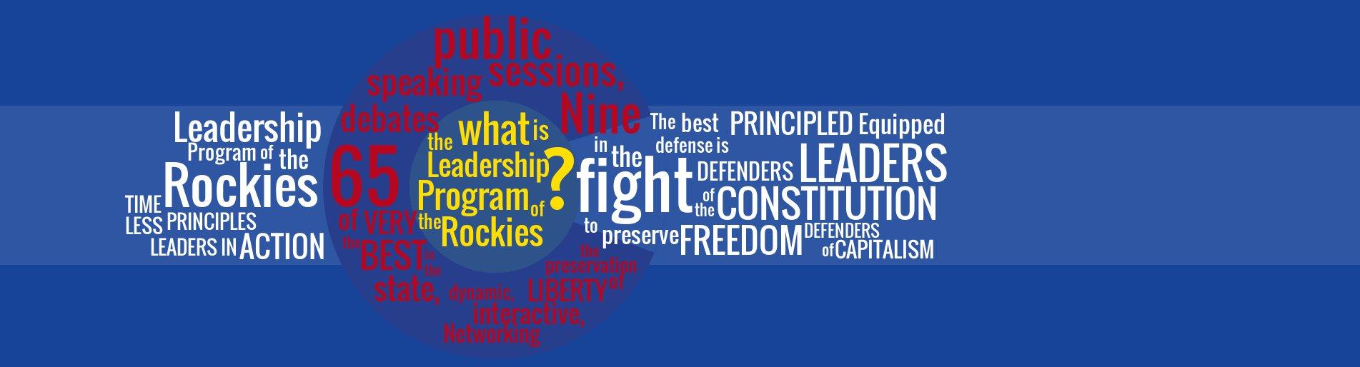 Apply Online to Leadership Program of the Rockies