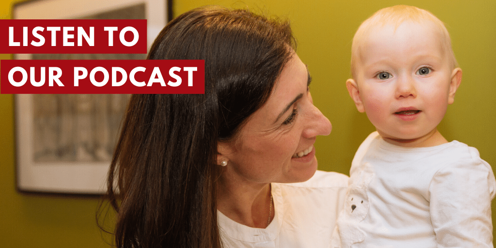 Discover the brand new Leaders With Babies Podcast for parents on maternity leave, shared parental leave