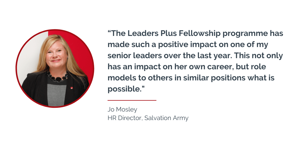 Jo Mosley, HR Director - Salvation Army