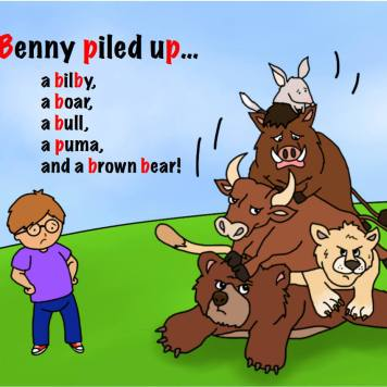 Picture of Penny and Benny Book