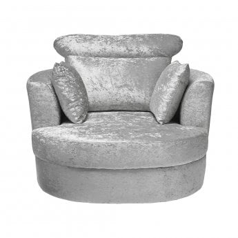 small swivel chair spandex folding covers lpd furniture bliss grey leader stores silver large