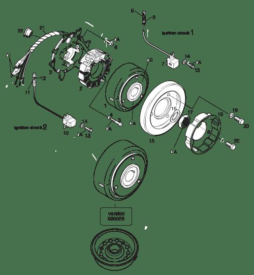 582 UL MOD. 90/99 Ducati Magneto-Generator 12V 170W