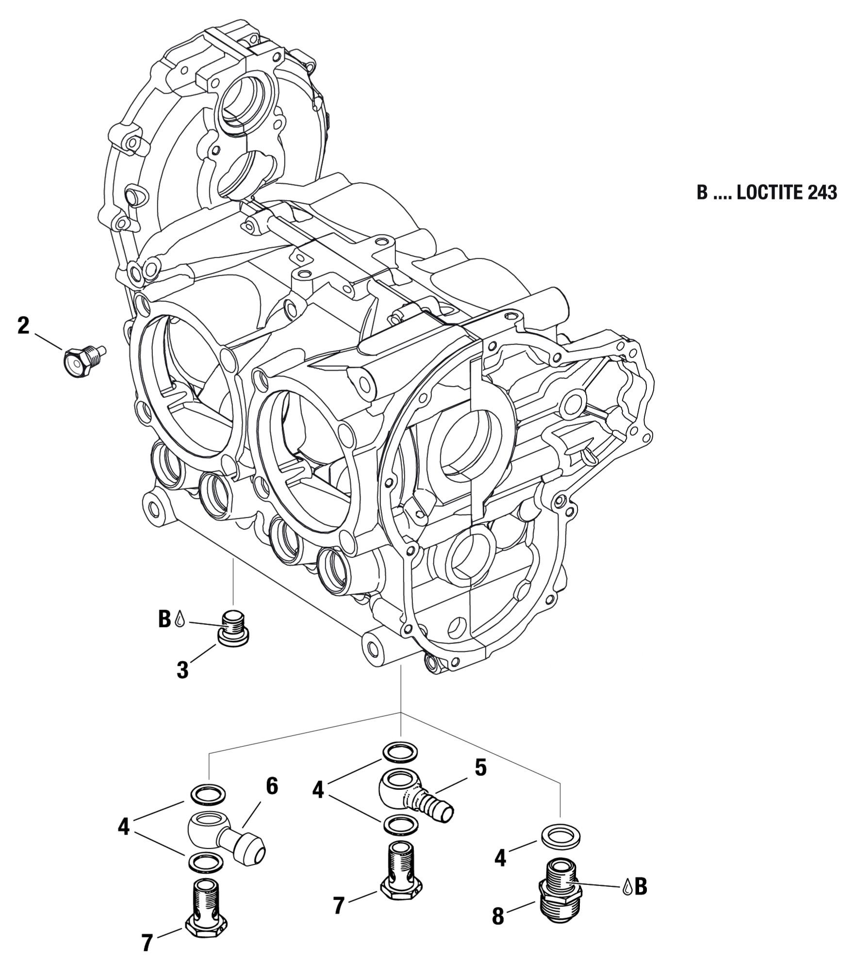 912 Amp 914 Magnetic Drain Plug Plug Screw