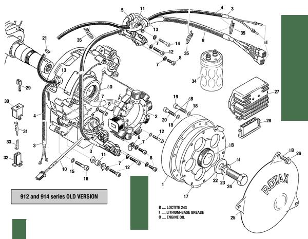 912 & 914 Series Magneto-Generator, Pick-Up, Rectifier