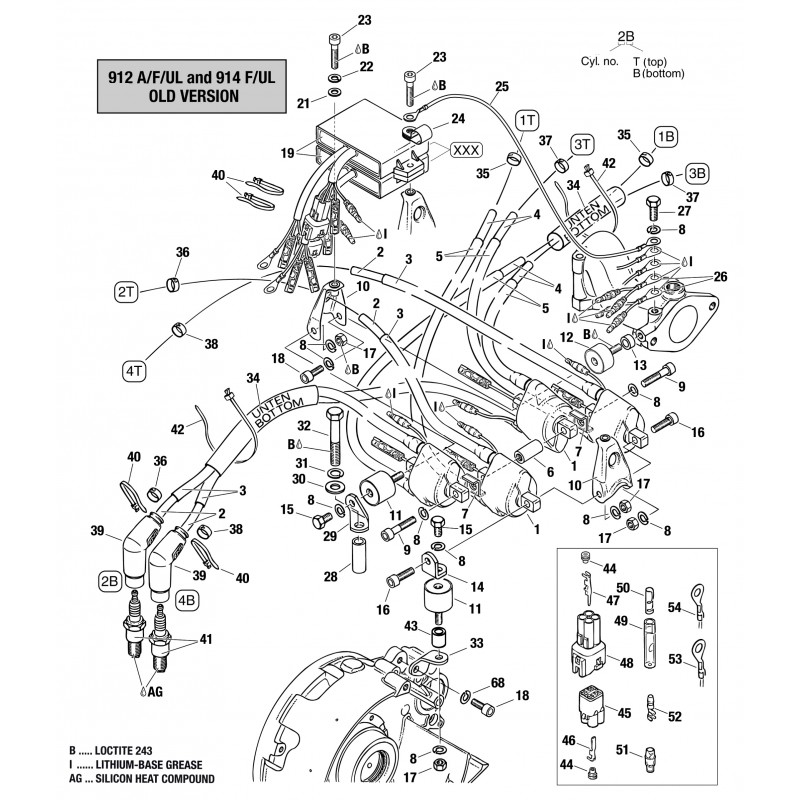 Rotax 914 Ignition Wiring Diagram CDI Relay Diagram Wiring