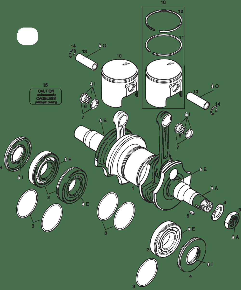 medium resolution of wiring diagram rotax 447 rotax 503 dcdi wiring 503 ul cdi crankshaft piston
