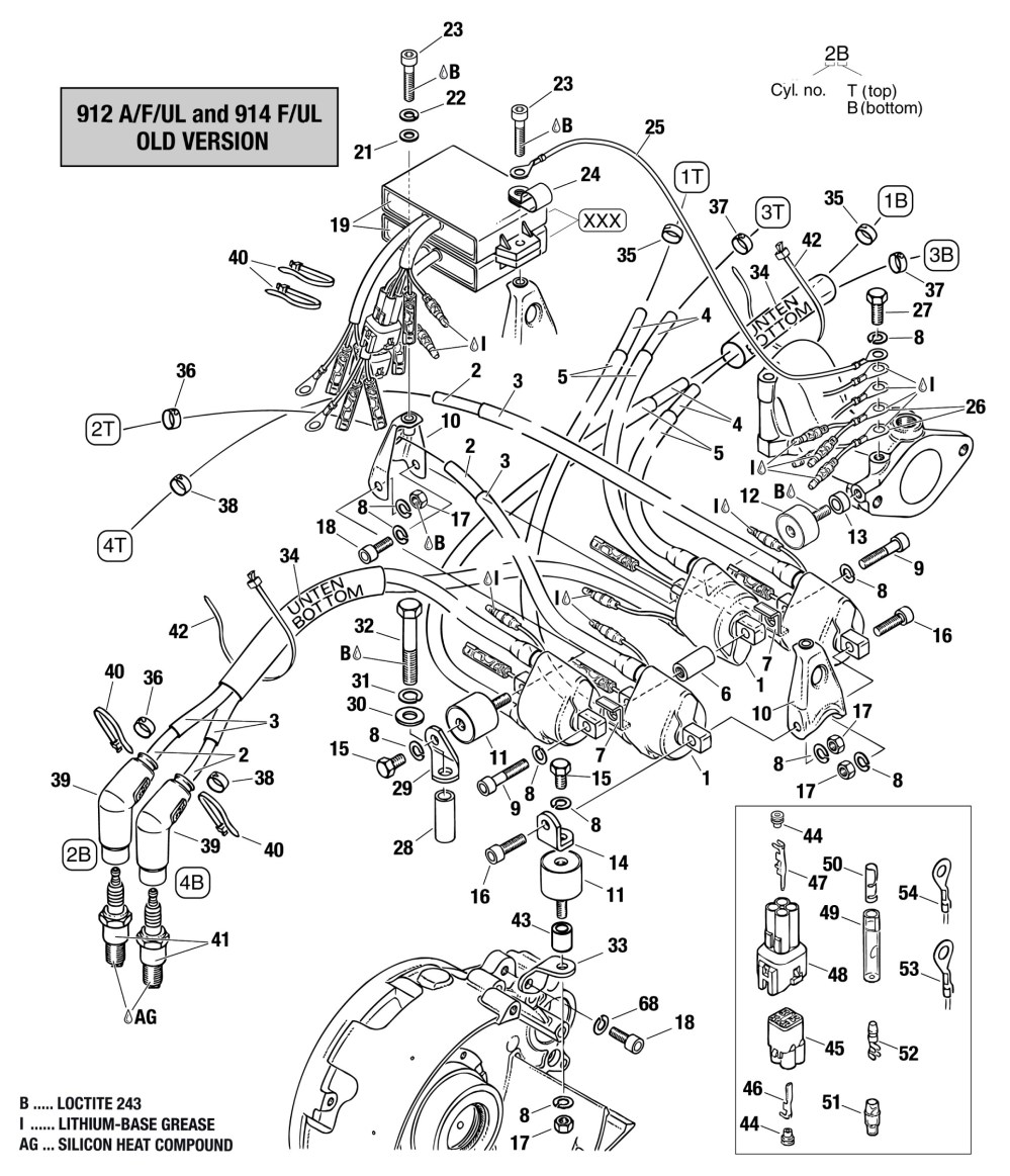 medium resolution of rotax 912 ignition wiring diagram wiring library912 u0026 914 double ignition coil assembly